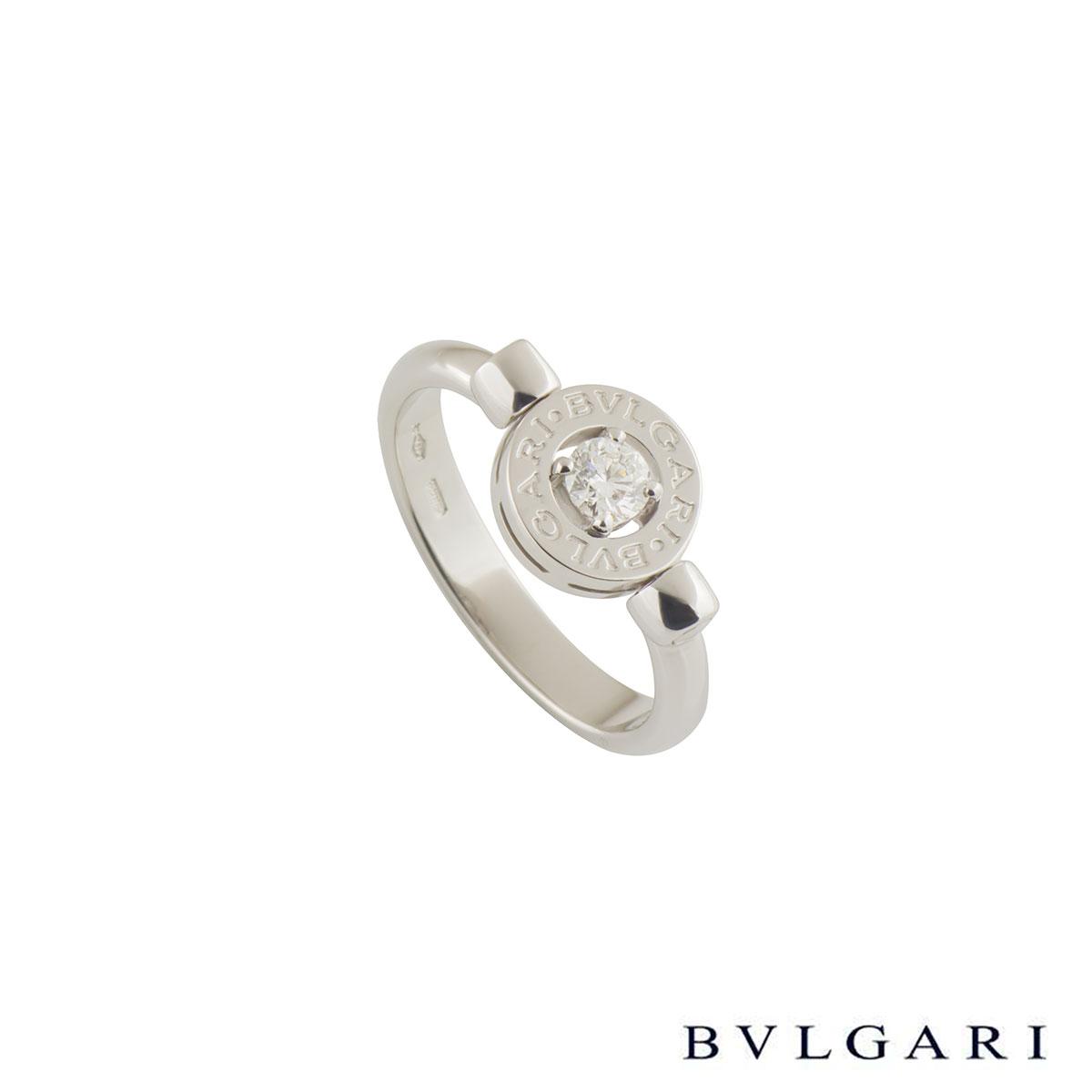 Bvlgari Bvlgari White Gold Diamond Ring AN856302
